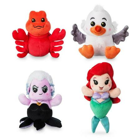 Disney Parks Wishables Ariel's Undersea Adventure Series Micro Plush Sealed ()