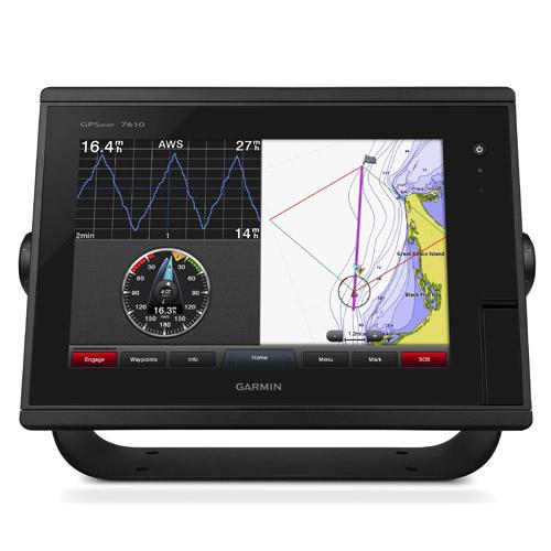 "Garmin GARM-GPSMAP 7610xsv J1939 10"" GPS Chartplotter Built-in CHIRP Sonar Tech"