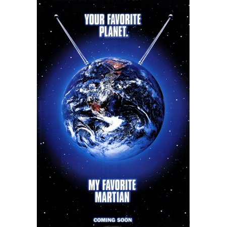 My Favorite Martian POSTER (27x40) (1999)](Halloween Favorites Playlist)