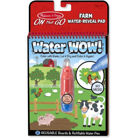 Melissa And Doug On The Go Water Wow  Farm Toy