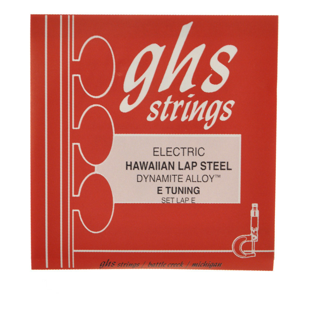 GHS Electric Hawaiian Lap Steel Dynamite Alloy Strings 13-56 by GHS