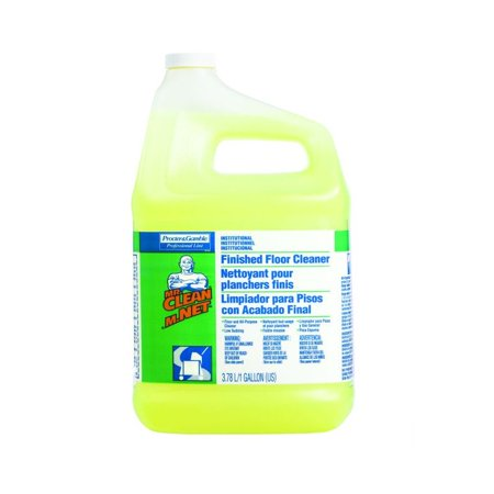 Finished Floor Cleaner - Proctor & Gamble P&G Mr. Clean Finished Floor Cleaner, Gallons, 3 Per Case