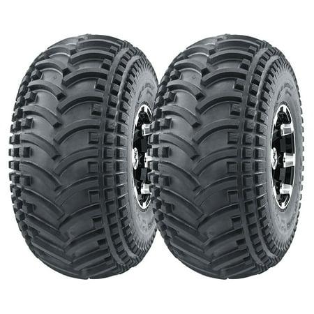 Set of 2 New WANDA ATV Tires 22X11-8 4PR  - 10135