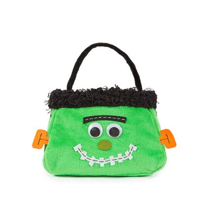 Xia Home Fashions Frankenstein Halloween Treat Bag