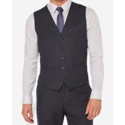 Perry Ellis NEW Blue Mens Size Small S Five-Button Four-Pocket Vest