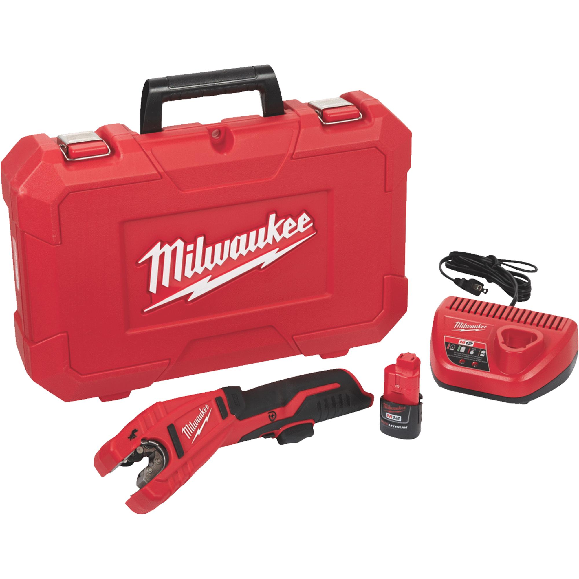 Milwaukee M12 Lithium-Ion Cordless Pipe Cutter
