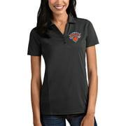New York Knicks Antigua Women's Tribute Polo - Charcoal