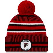 Atlanta Falcons New Era 2019 NFL Sideline Home Reverse Sport Knit Hat - Red/Black - OSFA
