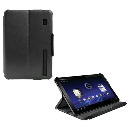 Oem Verizon Leather Display Folio For Motorola Xoom Mz600  Black   Bulk Packaging