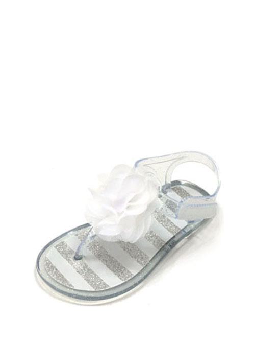 Wonder Nation Toddler Girls' Sparkle Jelly Sandal