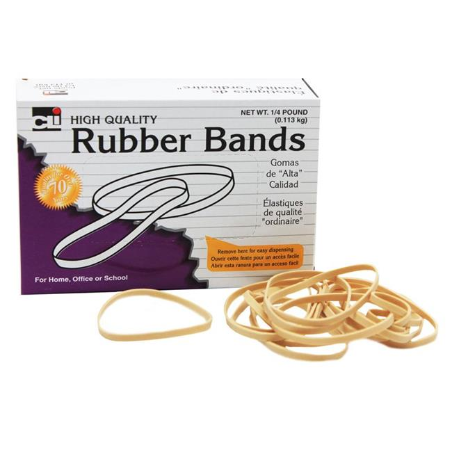 Charles Leonard CHL56132BN 3 x 0.13 in. Rubber Bands - Size 32 - Pack of 10