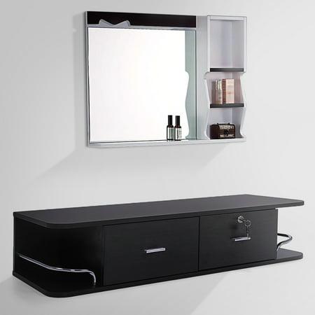 Salon Classic Wall Mount Styling Station Beauty Salon Spa Equipment -
