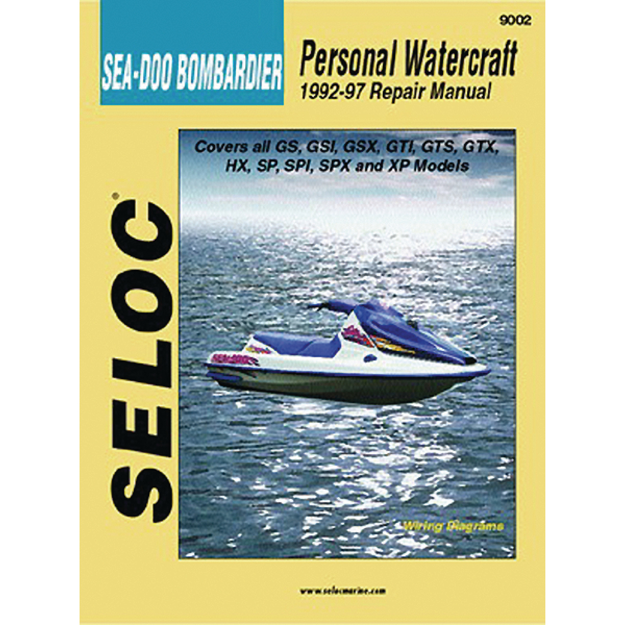 Seloc Marine Manual for Sea-Doo/Bombardier Personal Watercraft - Walmart.com