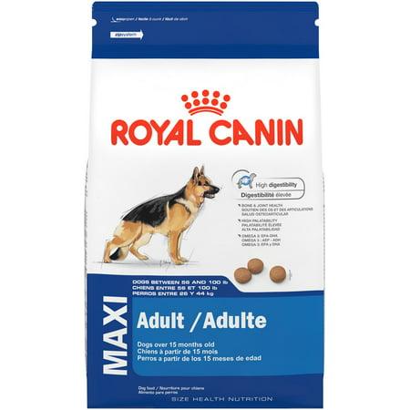Royal Canin Maxi Large Breed Adult Dry Dog Food, 35 lb