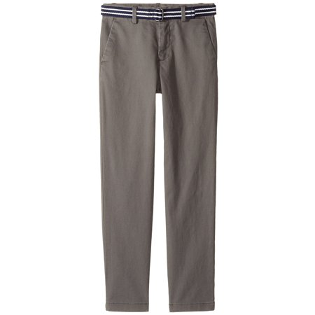 3c9bc10f3 Polo Ralph Lauren Boys Stretch Chino Pants & Belt (12-18 Months, Regent  Grey) - Walmart.com