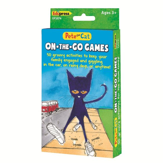 Edupress EP-2074 Pete The Cat On The Go Games