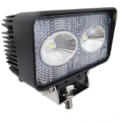 LED Work Light - 20W, Rectangular, Flood Beam