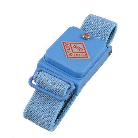 Unique Bargains Blue  Anti Static Cordless ESD Discharge Cable Wrist Band -