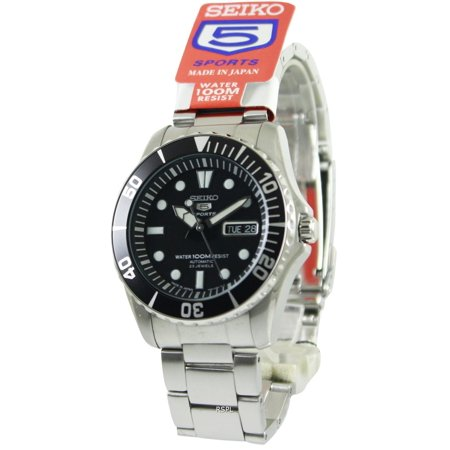 Seiko 5 Sports Automatic 23 Jewels Japan Made SNZF17 SNZF17J1 SNZF17J Men's