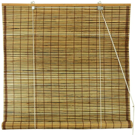 Upc 849527043646 Oriental Furniture Burnt Bamboo Roll Up
