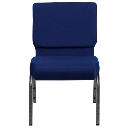 Flash Furniture FD-CH0221-4 Hercules Series 21 in. Extra Wide Fabric Stacking Church Chair
