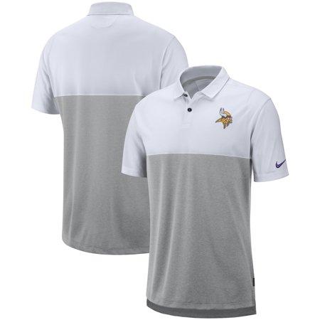 Nike Polo Tops (Minnesota Vikings Nike Sideline Early Season Performance Polo -)