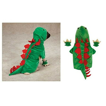 Dogosaurus Costume for Dogs - Dinosaur Halloween Dog Costumes Exclusive CLOSEOUT(Medium Dinosaur)