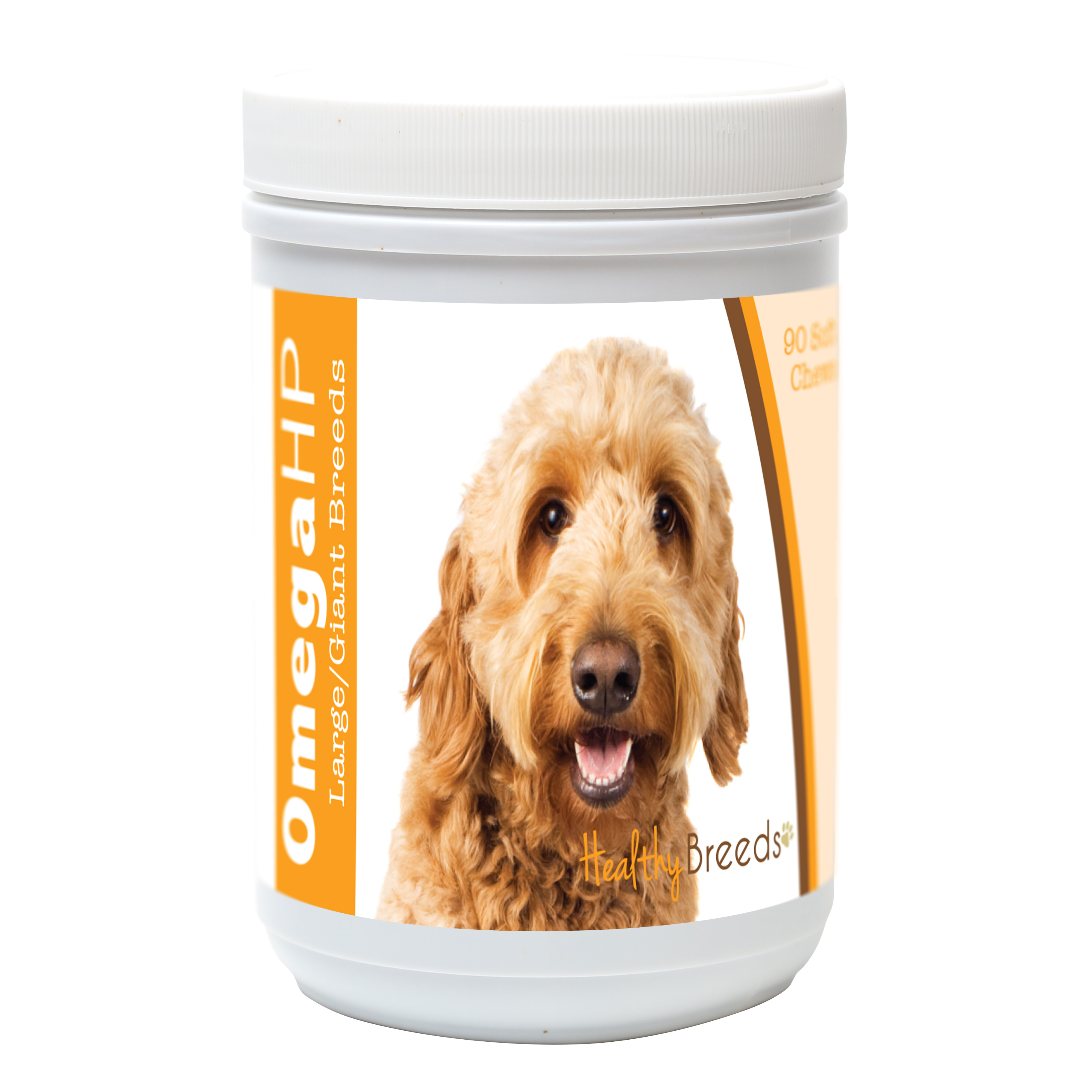 Healthy Breeds Goldendoodle Omega HP Fatty Acid Skin and Coat Support Soft Chews