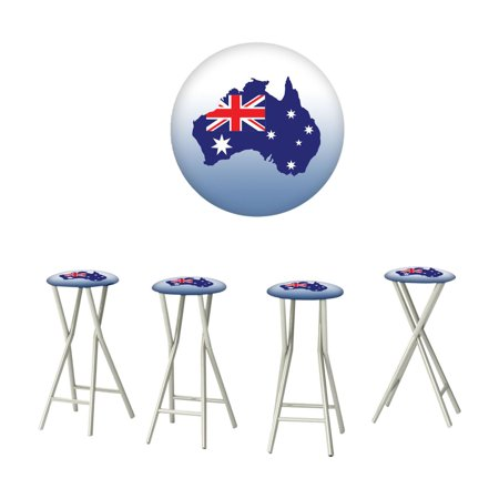 Best of Times Australia Outdoor Bar Stools - Set of 4 ()
