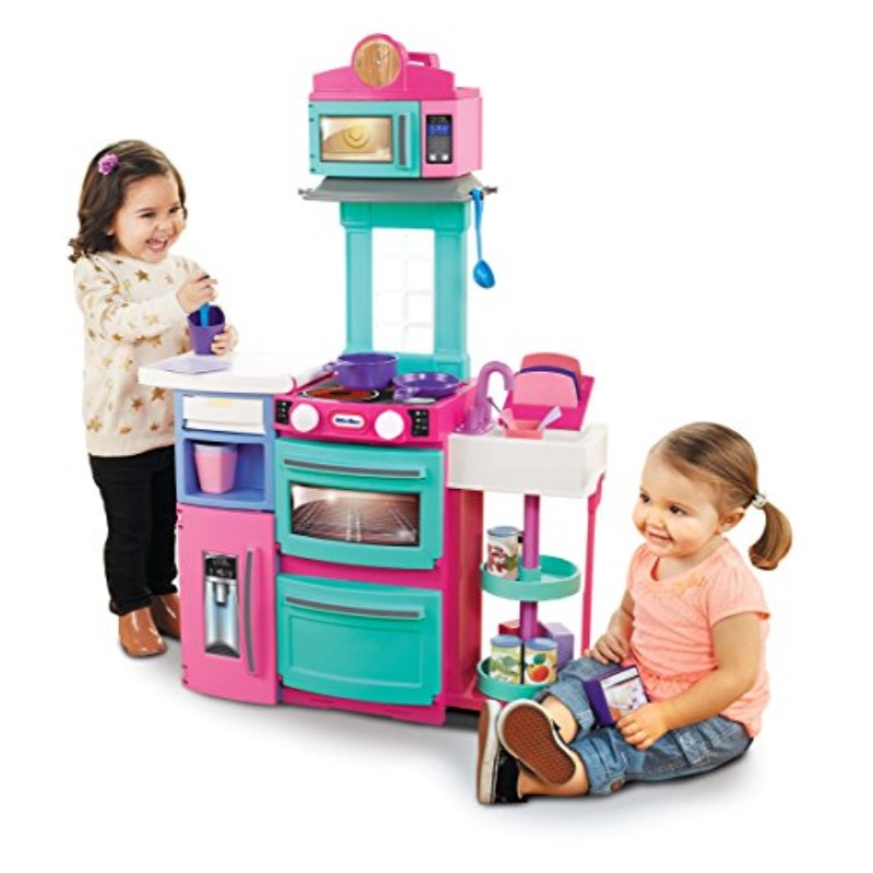 Little Tikes Cook 'n Store Kitchen Playset Pink by MGA Entertainment