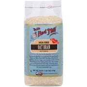 Bob's Red Mill Oat Bran Hot Cereal, 18 oz, (Pack of 4)