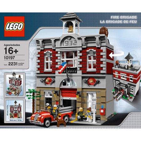 Lego Creator Fire Brigade 10197 Discontinued By Manufacturer