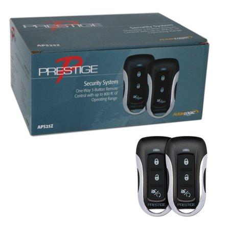Prestige APS25Z One-Way 3-Button 800 FT Keyless Remote Car Alarm Security System