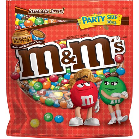 Ms Peanut Butter Chocolate Candy Party Size Bag  38 Oz