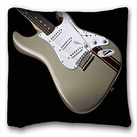 winhome awesome fender guitar music cushion cover unique design pillowcase throw pillow case. Black Bedroom Furniture Sets. Home Design Ideas