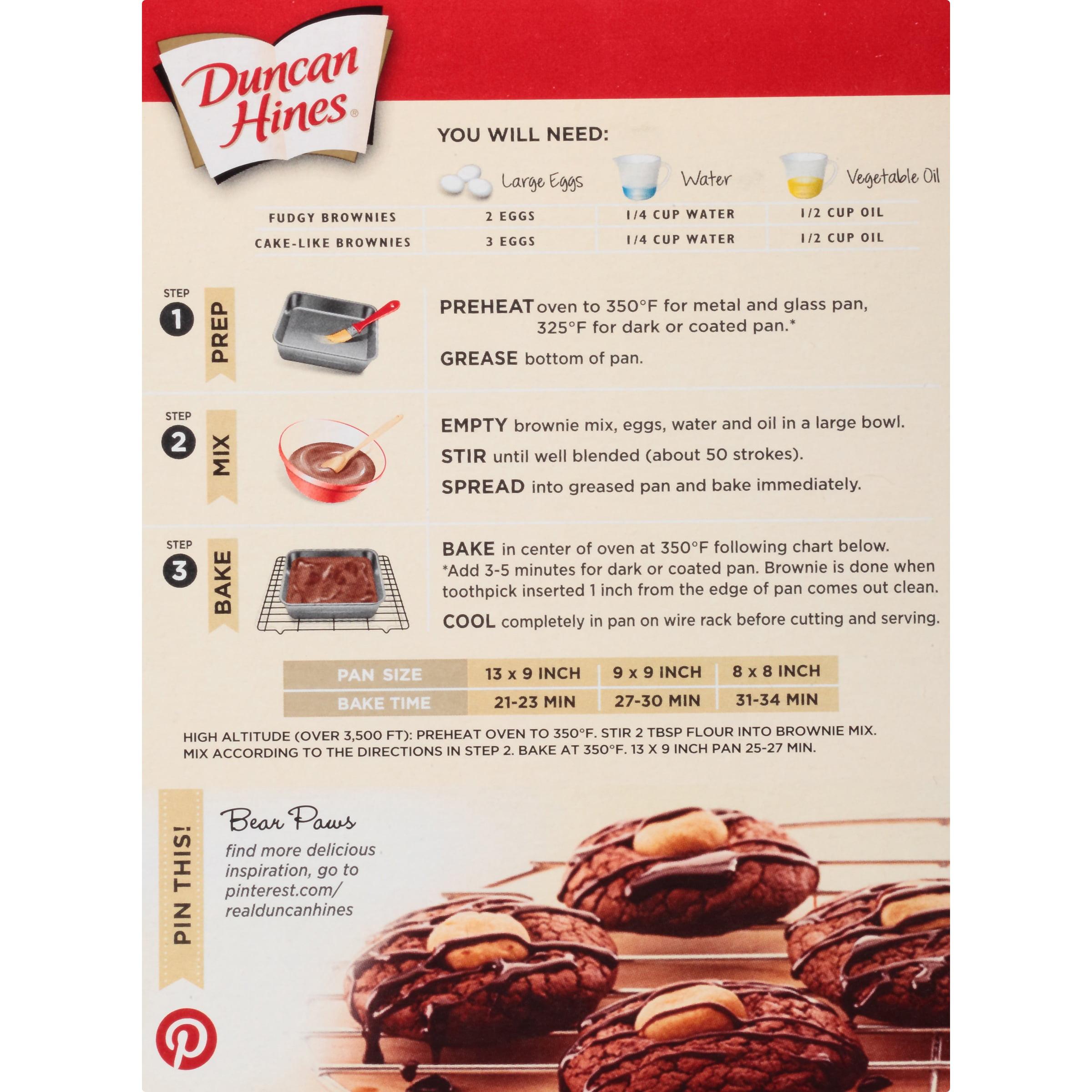 Duncan Hines Dark Chocolate Fudge Cake Mix Ingredients