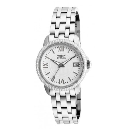 - Specialty Collection Swiss Quartz White Dial Silver SS Women's Watch