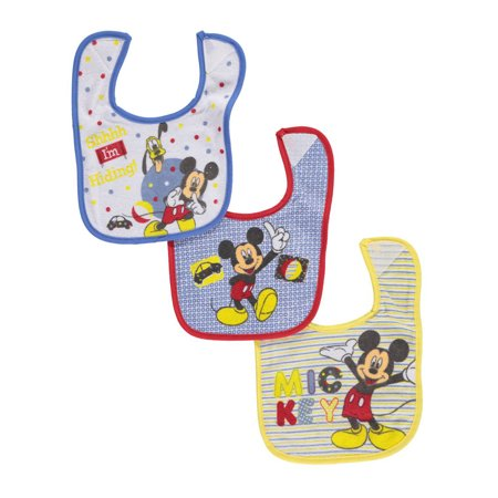 Mickey Mouse 1st Birthday Bib (Disney Mickey Mouse