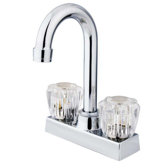 Two Handle 4 in. Centerset Bar Faucet