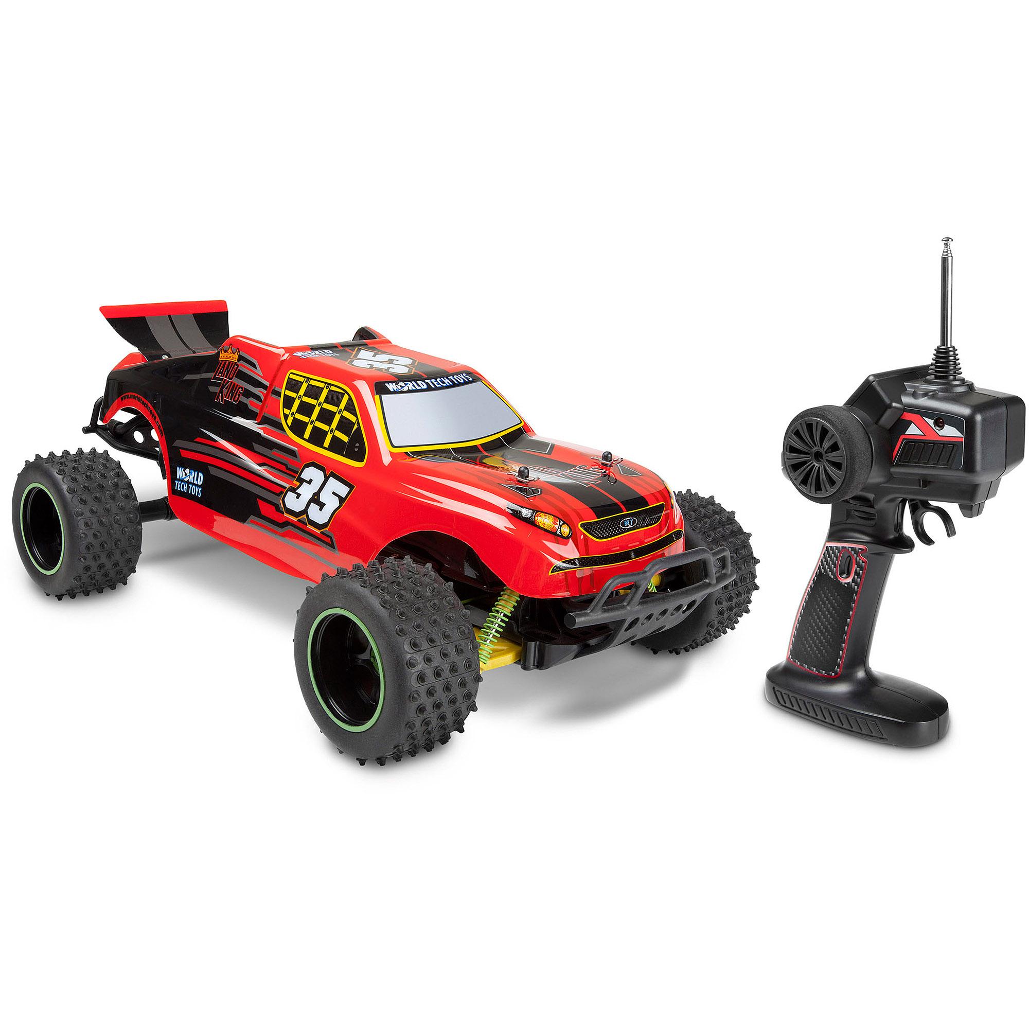 World Tech Toys 1:12 Land King RC Truggy