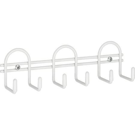 - ClosetMaid 6-Hook Utility Rail 509200