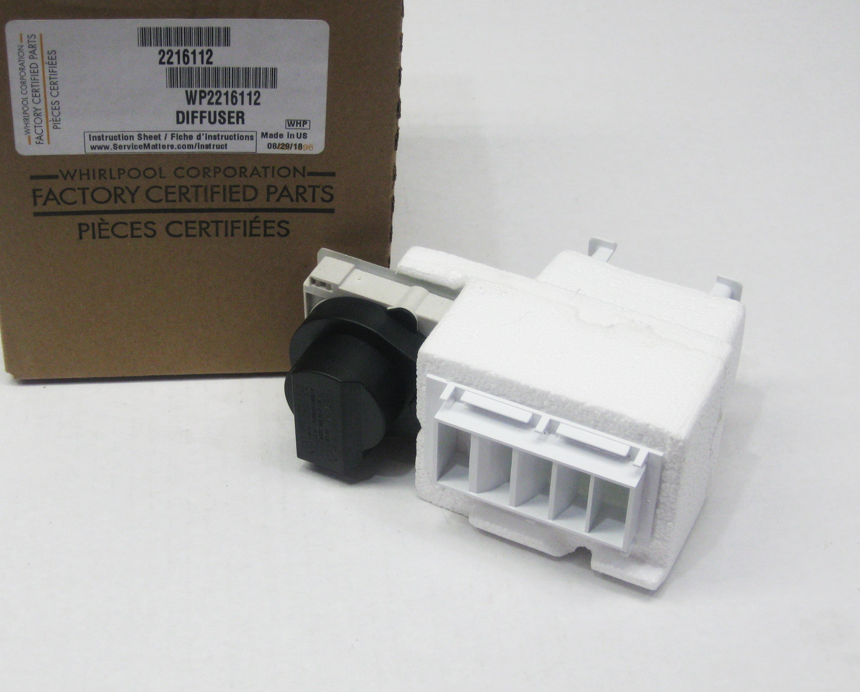 2203079 2315511 Air Diffuser Assembly Whirlpool Wp2216112 2216112