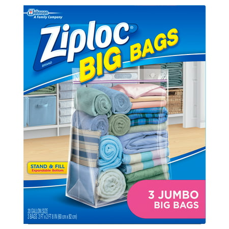 Ziploc Big Bags Jumbo 3 count