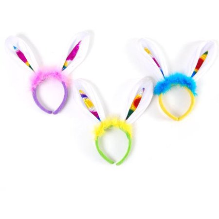 ddi 2132006 easter headband with ears & fur - case of 72