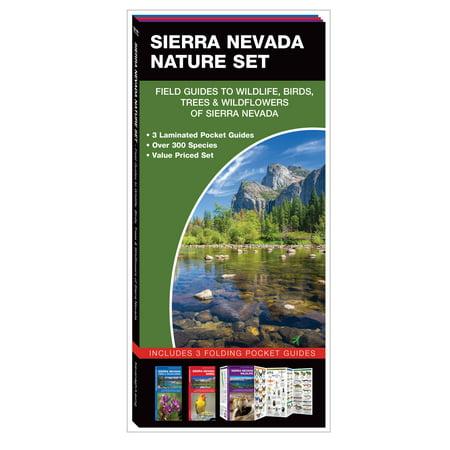 Nature Set: Sierra Nevada Nature Set: Field Guides to Wildlife, Birds, Trees & Wild Flowers of Sierra Nevada (Sierra Contact Set)