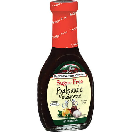 Maple Grove Farms Of Vermont Balsamic Vinaigrette  8 Oz  Pack Of 6