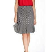 Pleione NEW Black Tulip Ponte Women's Size Small S Stretch Knit Skirt