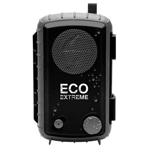 Grace Digital ECOXGEAR Eco Extreme GDI-AQCSE101 Rugged Waterproof Case with Built-in Speaker for Smartphones (Black) - Grace Digital ECOXGEAR Eco Extreme GDI-AQCSE101 Rugged Waterproof Case