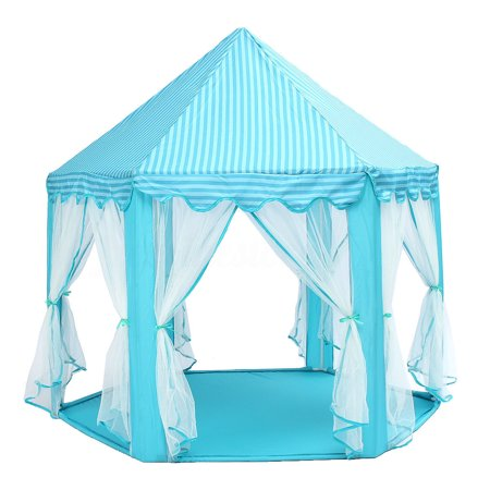 Princess Castle Play House, Large Indoor/Outdoor Kids Play Tent Christmas gifts birthday present for Girls - Christmas Play Kids