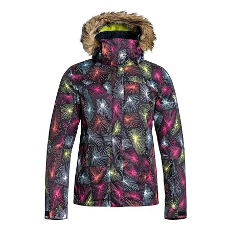 01cb70a2da91 Roxy - Roxy Jet Ski w Faux Fur Womens Insulated Snowboard Jacket ...